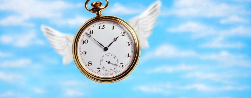 Clock flying